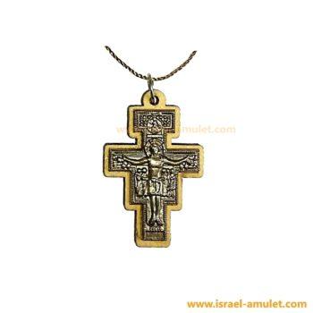 Распятие из оливы крестик христианский