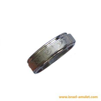 Кольцо Шма Исраэль из ювелирной стали