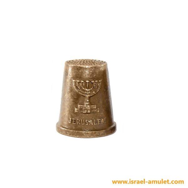 Напёрсток менора Иерусалим