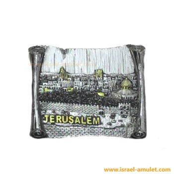 Старый город Иерусалим магнит-свиток