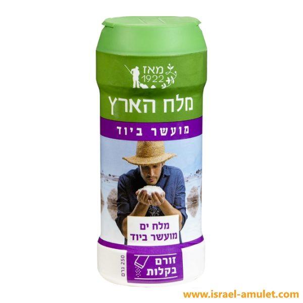 Соль израильская Красного моря с йодом