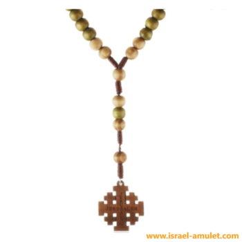 Иерусалимский крест четки